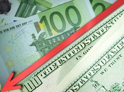 Евро не переходит отметку 1,25 доллар