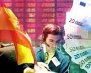 На евро давят проблемы Испании